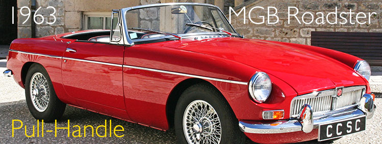 1963 MGB Roadster (Pull-handle)