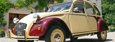 Hire a Citroen 2CV in France
