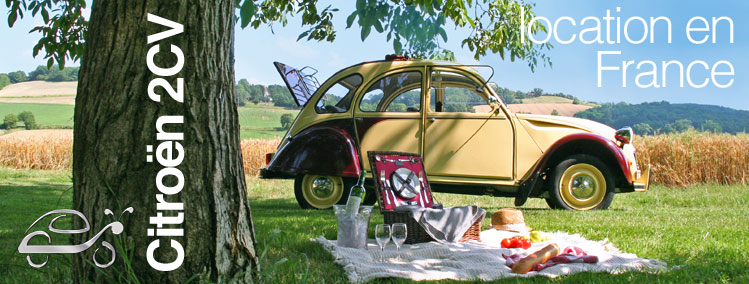Citroen 2CV location en france