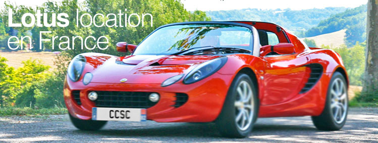 Lotus Elise location en france