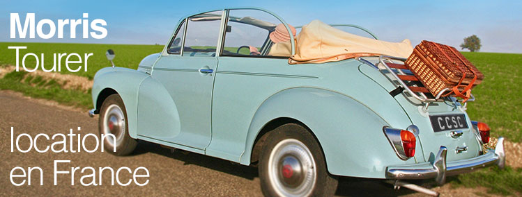 Location Morris Minor Cabriolet